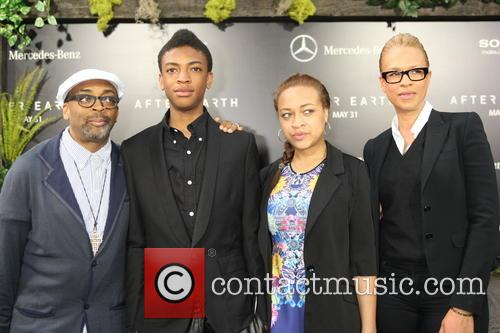 Spike Lee, Jackson Lee, Satchel Lee and Tonya Lewis Lee 3