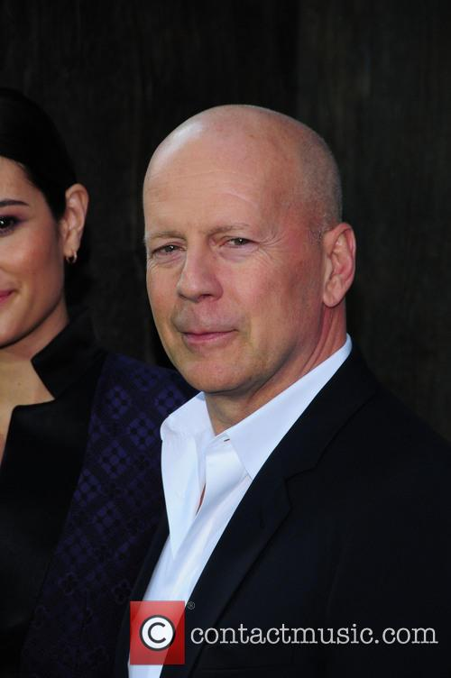 Bruce Willis at 'After Earth' New York premiere