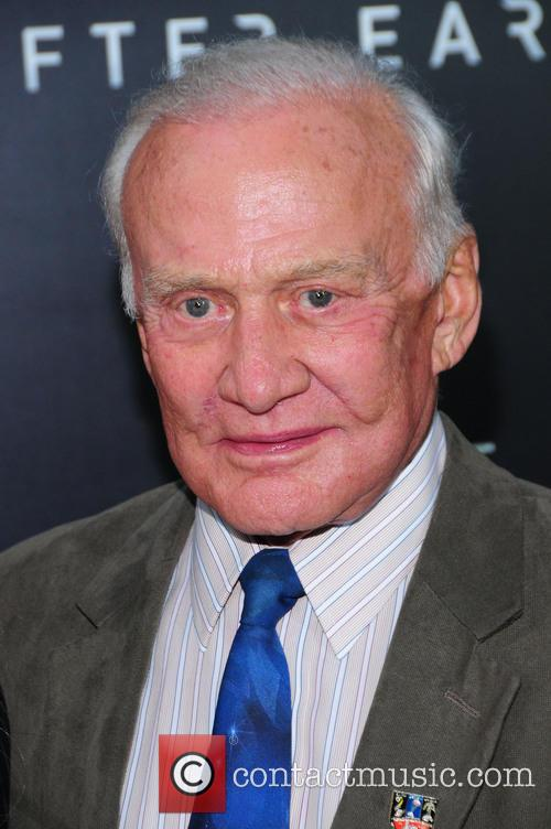 Buzz Aldrin at 'After Earth' New York premiere