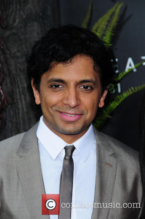 M. Night Shyamalan at 'After Earth' New York premiere