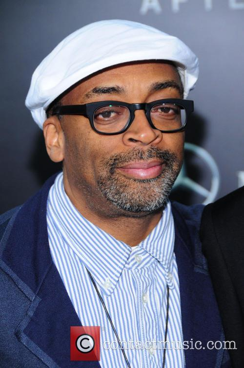 Spike Lee at 'After Earth' New York premiere