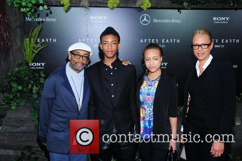 Spike Lee, Jackson Lee, Satchel Lee and Tonya Lewis Lee 6