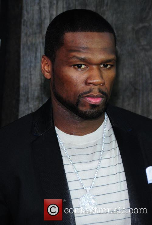 50 Cent After Earth Premiere