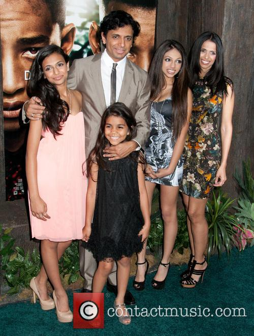 M Night Shyamalan and Family 3
