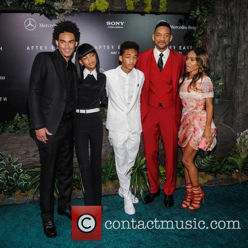 Willow Smith, Jaden Smith, Will Smith, Jada Pinkett-Smith, Ziegfeld Theatre