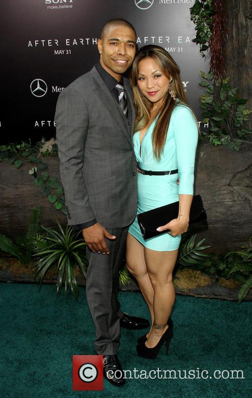 caleeb pinkett wife new york premiere of after 3693098