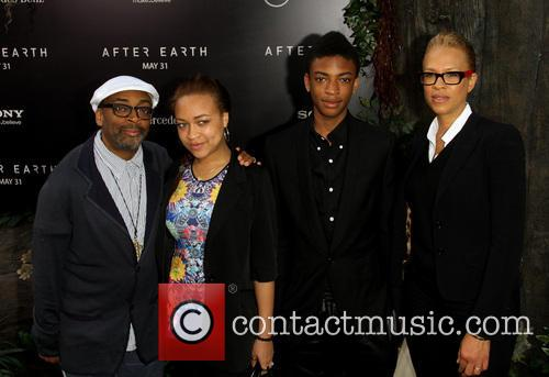 Spike Lee, Tonya Lewis Lee, Jackson Lee and Satchel Lee 7
