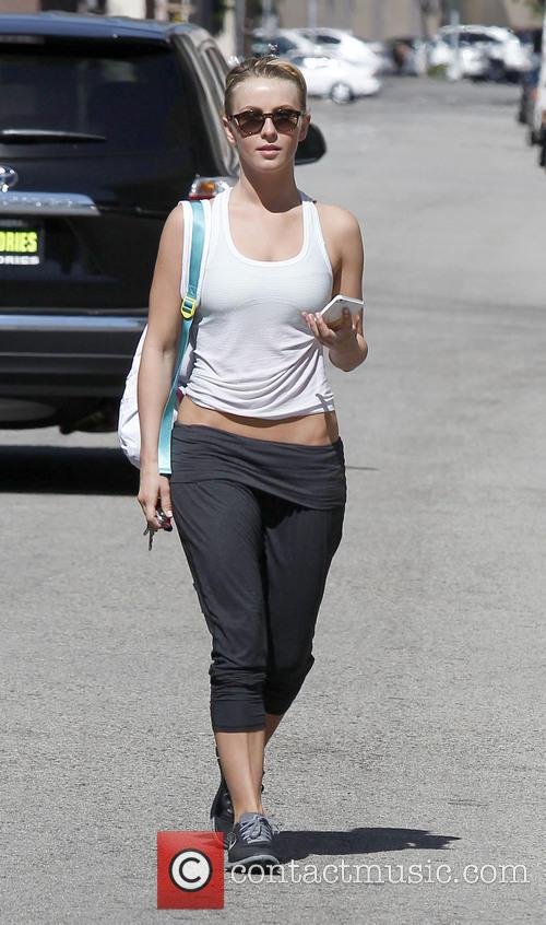 Julianne Hough spotted leaving the gym in Studio...