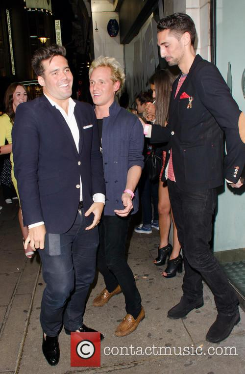 Spencer Matthews, Jamie Laing and Hugo Taylor 3