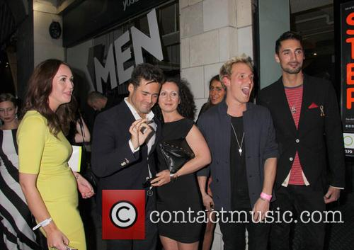 Jamie Laing, Spencer Matthews and Hugo Taylor 7