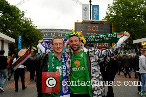 2013 International friendly England V Republic of Ireland.