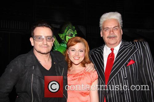 Bono, Rebecca Faulkenberry and Michael Mulheren 2