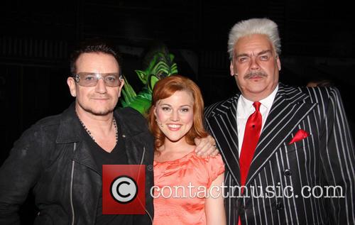 Bono, Rebecca Faulkenberry and Michael Mulheren 1