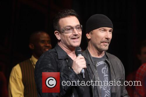 bono the edge spider man turn off the dark 3693254