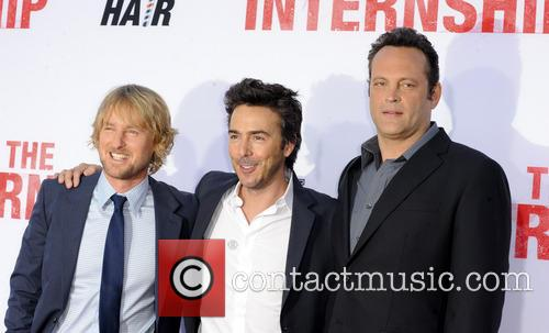 Owen Wilson, Shawn Levy and Vince Vaughn 8