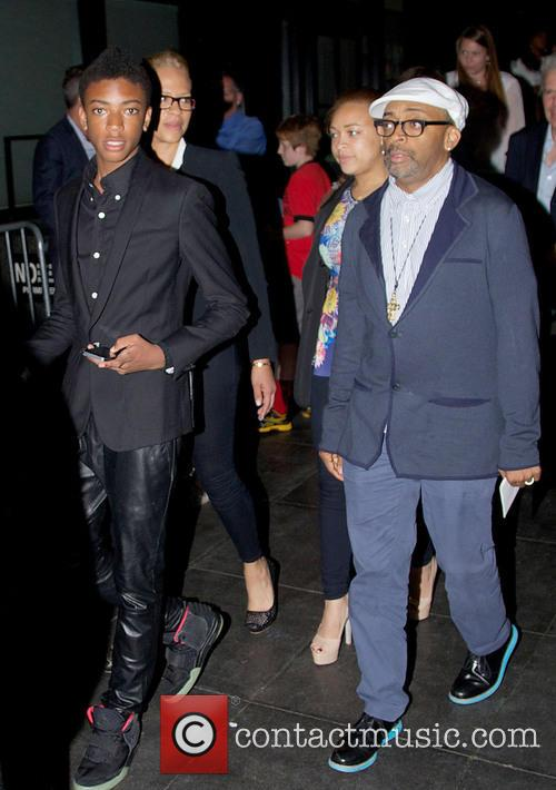 After Earth Premiere - Departures