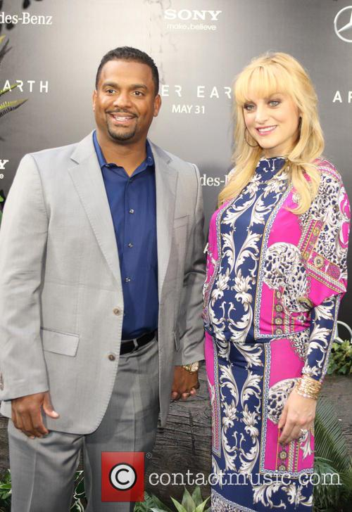 Alfonso Ribeiro and Angela Unkrich 11