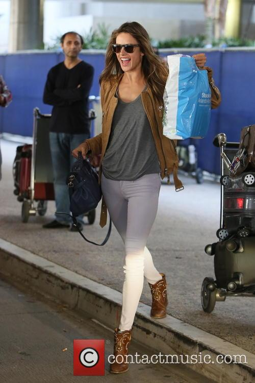 Alessandra Ambrosio, LAX Airport