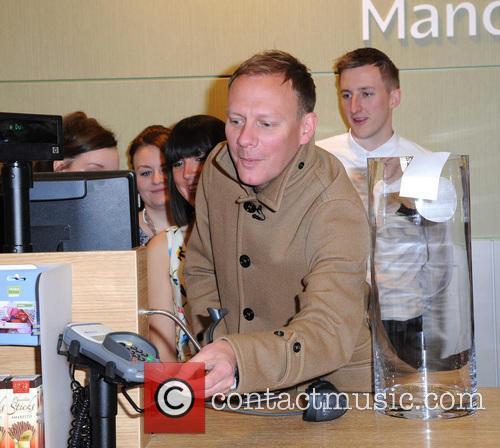 Antony Cotton opens the new Homesense Store