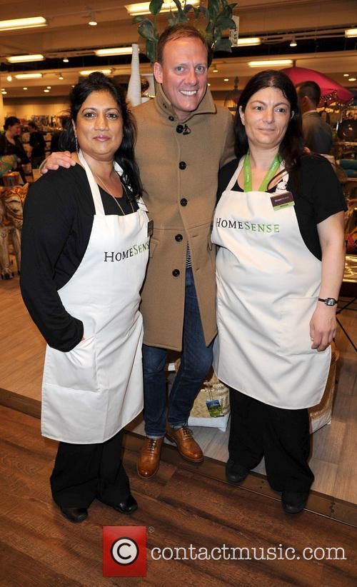 Antony Cotton opens the new Homesense Store