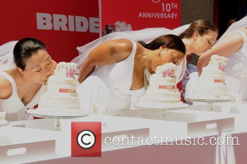 Bridezillas Cake Eating Competition