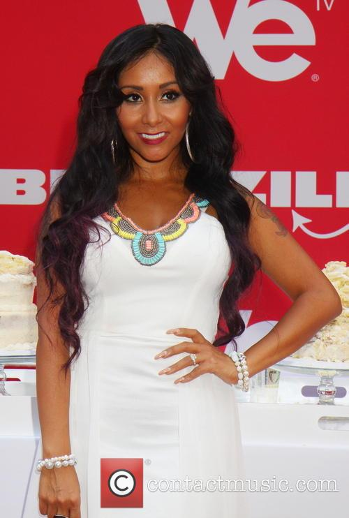 WE tv's 'Bridezillas' kickoff their 10th anniversary season with a cake eating contest hosted by Nicole 'Snooki' Polizzi
