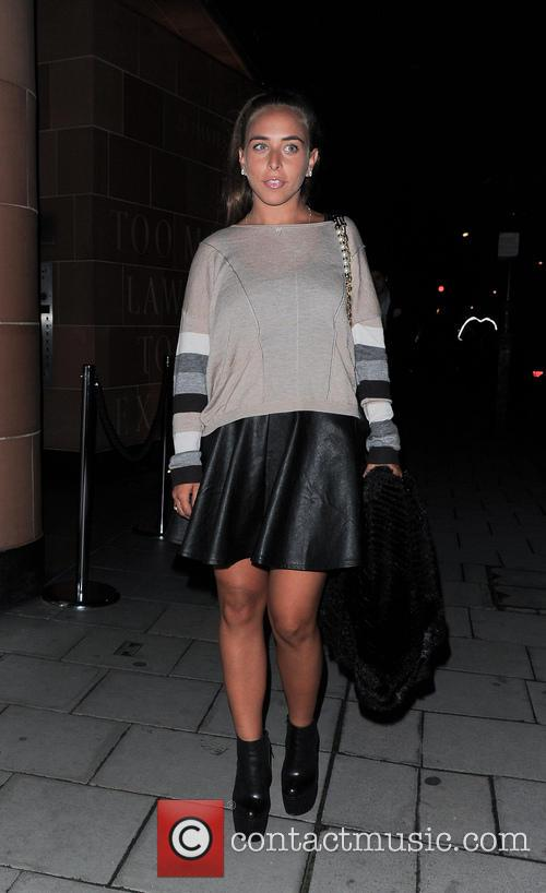 Chloe Green leaving C Restaurant