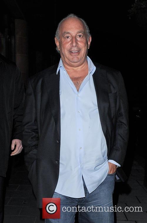 Philip Green leaving C Restaurant