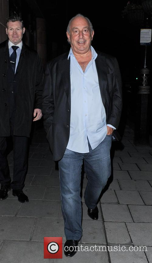 Philip Green leaving C Restaurant