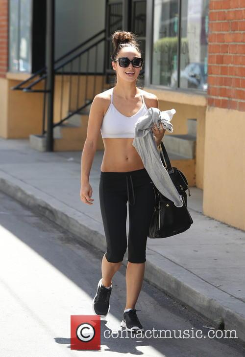 Cara Santana seen leaving the gym
