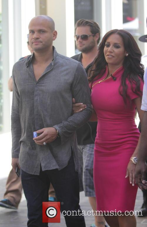 Melanie Brown, Mel B and Stephen Belafonte 8