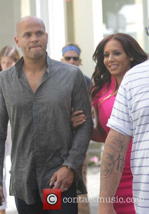 Melanie Brown, Mel B and Stephen Belafonte 9
