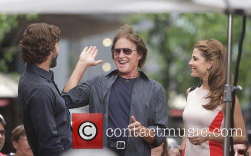 Bruce Jenner, Brody Jenner and Maria Menounos 5