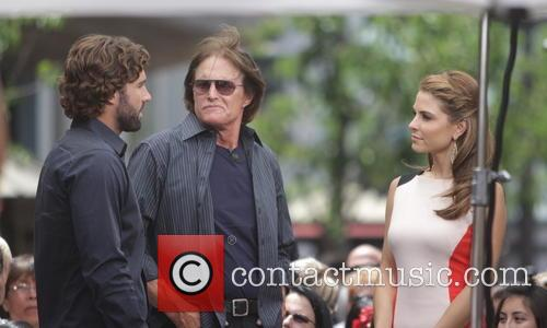 Bruce Jenner, Brody Jenner and Maria Menounos 11