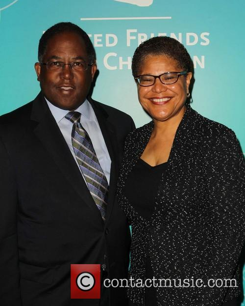 Chairman Mark Ridley-thomas and Congresswoman Karen Bass 1