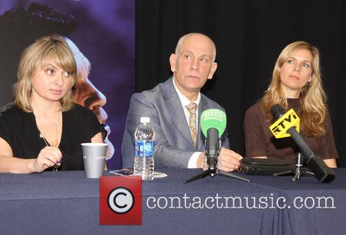John Malkovich attends a press conference for 'The...