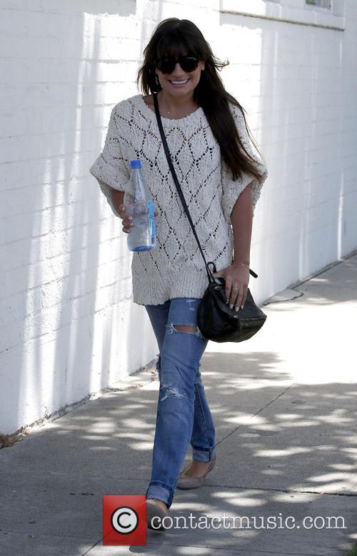 lea michele lea michele seen out and 3695006