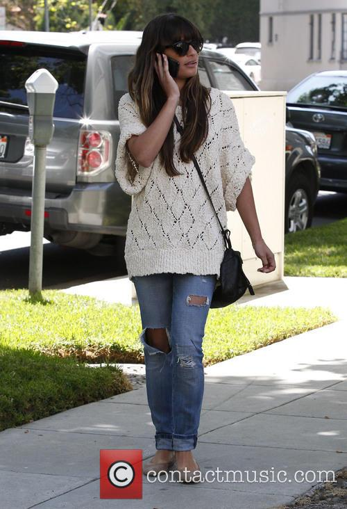 lea michele lea michele seen out and 3695007