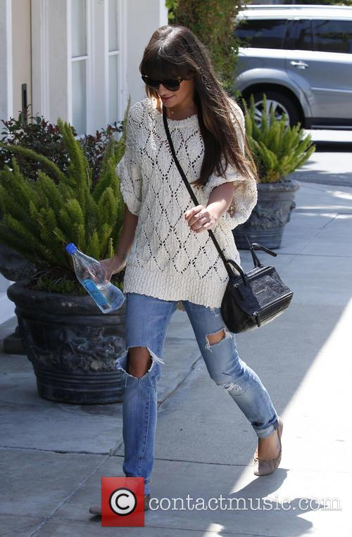 lea michele lea michele seen out and 3695010