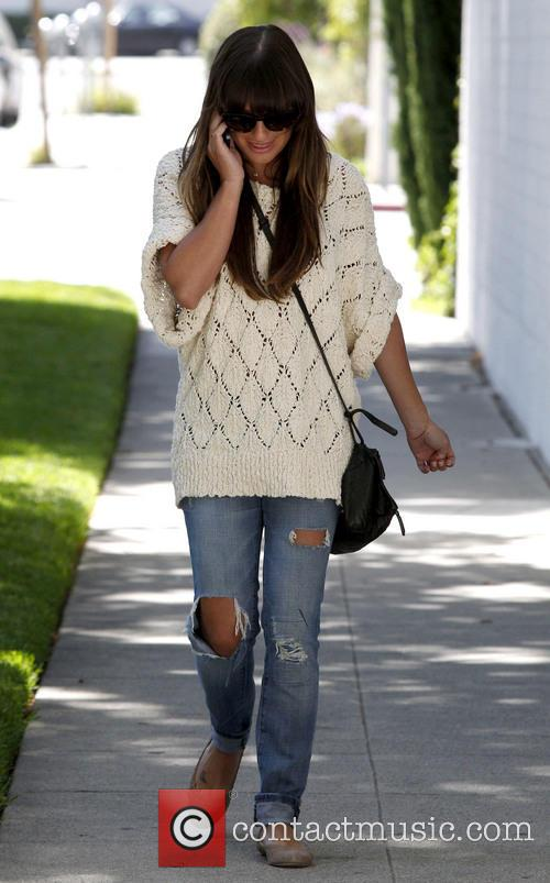 lea michele lea michele seen out and 3695017