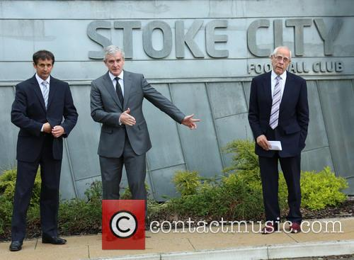 Mark Hughes at Stoke City Football Club