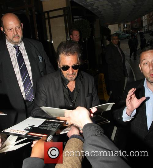 Al Pacino Leaves His Hotel