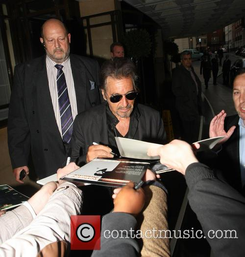 Al Pacino Leaves His Hotel