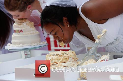 Bridezillas Cake Eating Competition 11