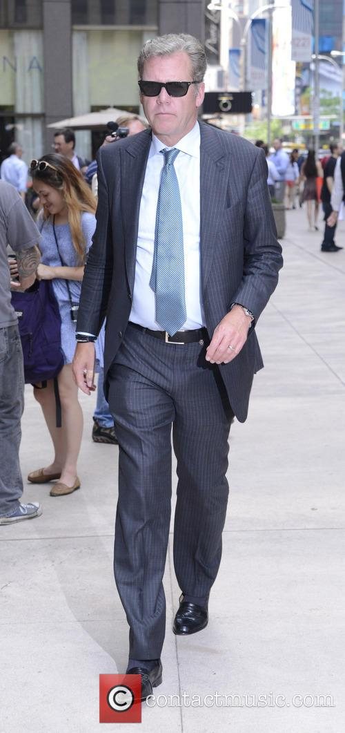 Chris Hansen Outside NBC Studios