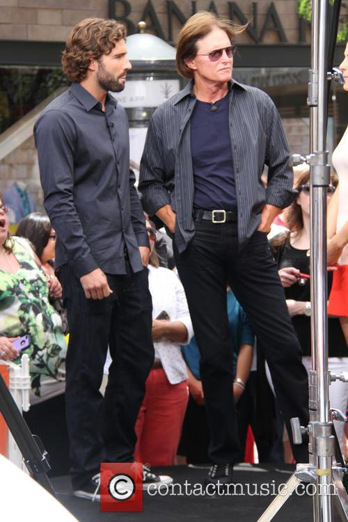 bruce jenner brody jenner celebrities at the grove 3695023