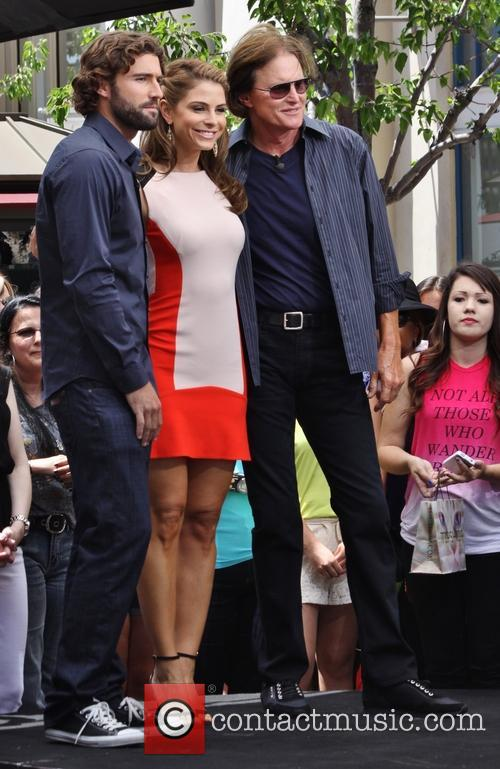 Bruce Jenner, Brody Jenner and Maria Menounos 1