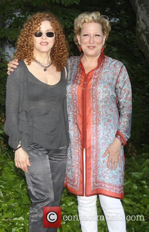 Bernadette Peters and Bette Midler 1