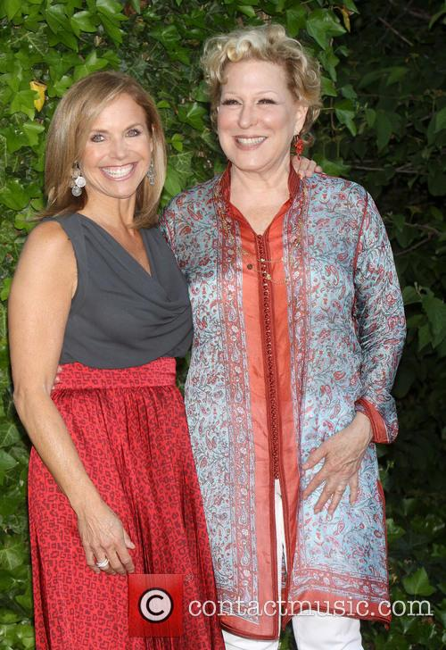Katie Couric and Bette Midler 4