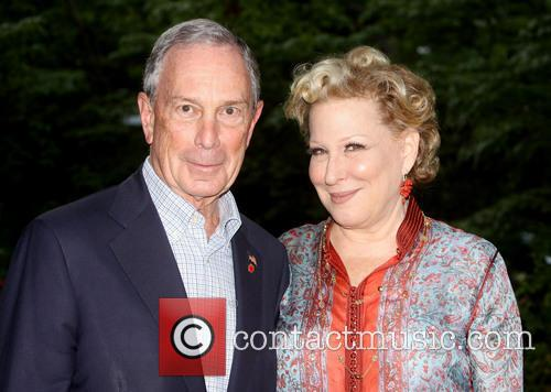 Mayor Michael Bloomberg and Bette Midler 2